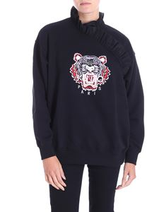 Kenzo - Black Tiger sweatshirt with curled insert