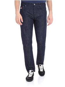 Kenzo - Blue 5-pocket Tapered jeans
