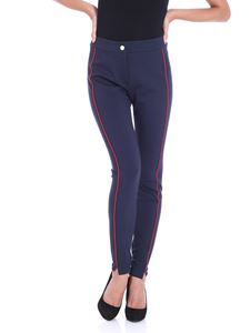 Tommy Hilfiger - Blue New Imogen trousers with red inserts