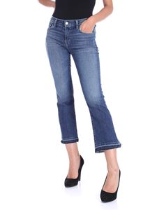 J Brand - Selena 5-pocket blue jeans
