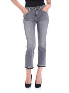 J Brand - Gray 5-pocket Selena jeans