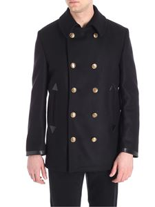 Givenchy - Black double-breasted coat