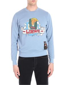 Loewe - Holiday light blue sweatshirt