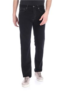 Givenchy - 5 pockets black jeans