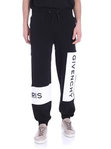Givenchy - Black pants with logo