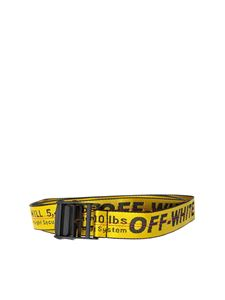 Off-White - Yellow industrial belt