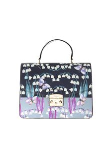 Furla - Metropolis bag M with flower and butterflies prints