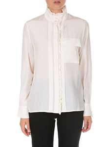 Chloé - Camicia in seta color crema