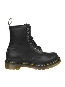 Dr. Martens - 1460 W Nappa black ankle boots