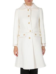 Chloé - White wool blend coat