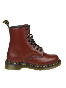 Dr. Martens - Anfibio 1460 Smooth rosso