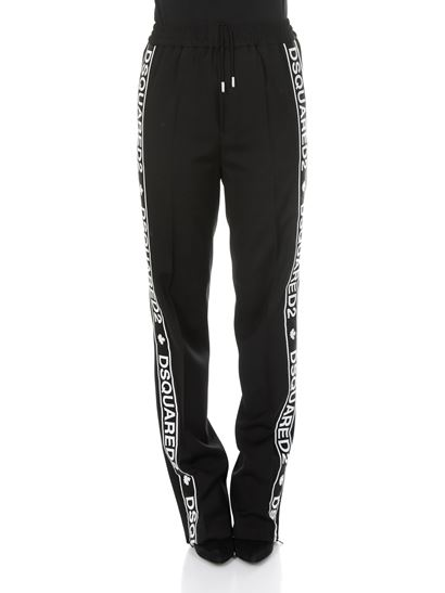 Dsquared2 - Wool branded pants