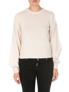 Chloé - Cream colored cashmere wool pullover