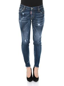 Dsquared2 - Twiggy blue jeans