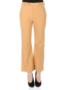 Chloé - Light brown virgin wool trousers