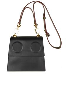 Marni - Black and green Marionette shoulder bag
