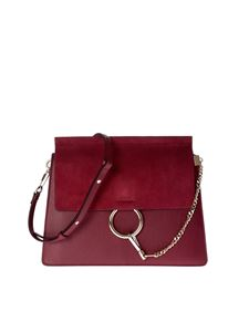 Chloé - Red leather shoulder bag