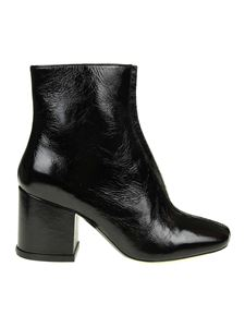 Kenzo - Daria black painted ankle boots
