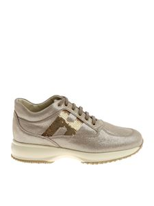 Hogan - Beige Interactive sneakers