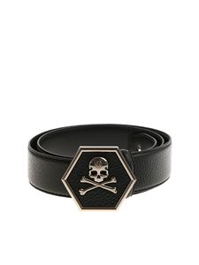 Philipp Plein - Black Aleksandr belt