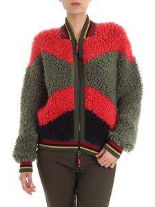 Etro - Multicolor mohair bomber jacket