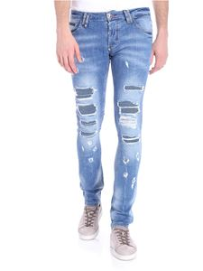 Philipp Plein - Blue Storm in a teacup jeans