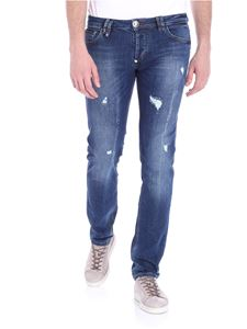 Philipp Plein - Blue Hard to concert jeans