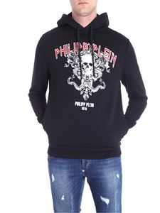 Philipp Plein - Black Times hooded sweatshirt