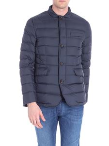 Moorer - Anthracite Zayn technical fabric down jacket