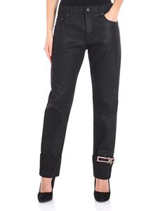 N° 21 - Black jeans with brooches