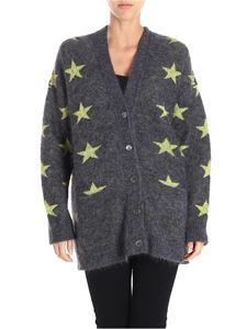 N° 21 - Gray knit cardigan with stars