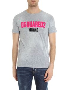 Dsquared2 - Cotton and viscose T-shirt