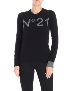 N° 21 - Black pullover with logo