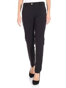 Blugirl - Black trousers with straps