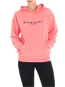 Givenchy - Vintage salmon pink sweatshirt with logo