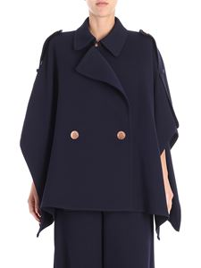 See by Chloé - Navy blue cotton cape