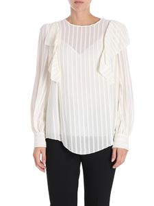 See by Chloé - Cream-colored ruffled blouse