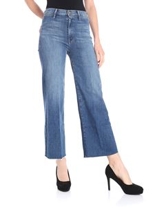 MOTHER - Flared jeans with raw cut bottom