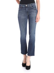 MOTHER - Blue kick-flared jeans