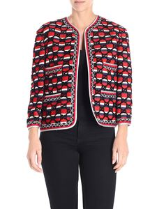 Gucci - Striped jacket with monogram pattern