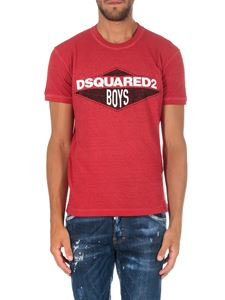 Dsquared2 - Red Dsquared2 Boys T-shirt