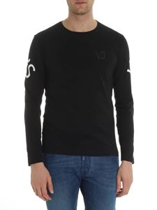 Versace Jeans - Crew-neck long sleeve t-shirt with logo