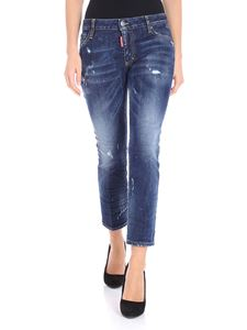 Dsquared2 - Dark blue Runway jeans