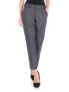 Dsquared2 - Gray virgin wool trousers