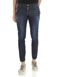Dsquared2 - Sexy Twist blue jeans