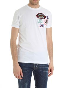 Dsquared2 - White t-shirt with logo patch