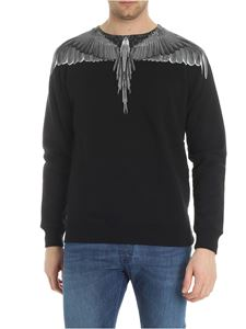 Marcelo Burlon - Wings black sweatshirt
