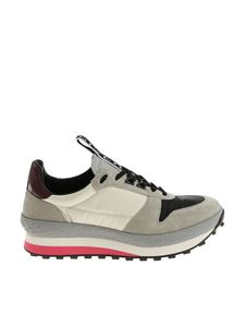 Givenchy - Gray and cream colored sneakers