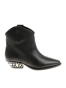 Isabel Marant - Black pointy Dawyna ankle boots