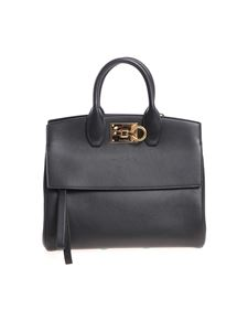 Salvatore Ferragamo - Black Tote Studio Bag